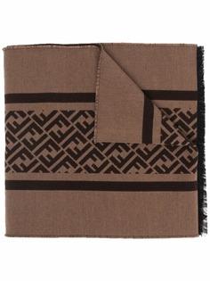 Fendi шарф с логотипом FF