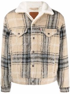 Levis куртка с подкладкой из шерпы