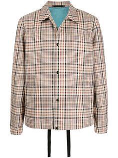 PAUL SMITH клетчатая куртка-рубашка