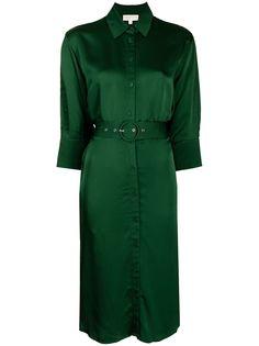 Michael Michael Kors платье-рубашка с поясом