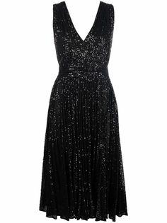 Elisabetta Franchi платье с пайетками