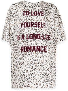 COOL T.M футболка с леопардовым принтом