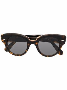 Ray-Ban солнцезащитные очки в оправе кошачий глаз
