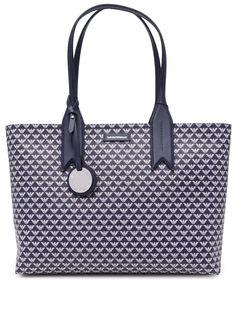 Emporio Armani сумка-тоут с монограммой