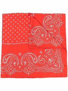 Givenchy шелковый платок с принтом пейсли