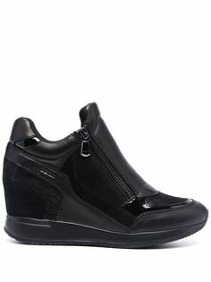 Geox кроссовки со вставками
