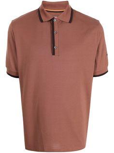 PAUL SMITH рубашка поло с контрастной отделкой