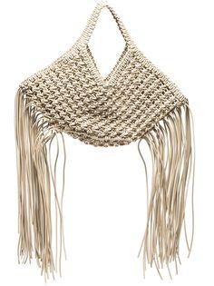 Yuzefi плетеная сумка-тоут