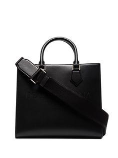 Dolce & Gabbana сумка-тоут Edge с тисненым логотипом