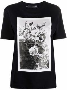 Love Moschino футболка с логотипом