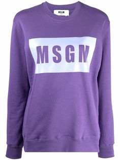 MSGM толстовка с логотипом
