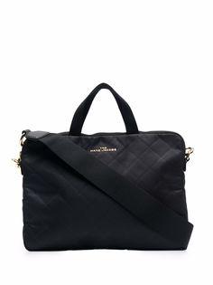 Marc Jacobs стеганая сумка-тоут с логотипом