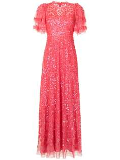 Needle & Thread платье Seren с пайетками