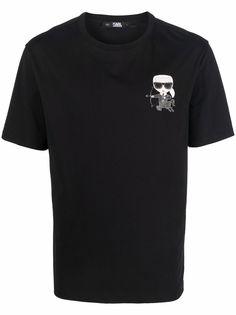 Karl Lagerfeld футболка Sagittarius с логотипом