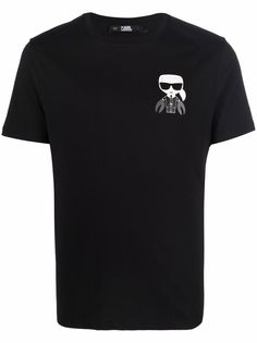 Karl Lagerfeld футболка Cancer с логотипом