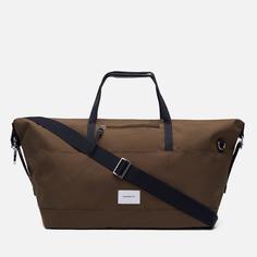 Дорожная сумка Sandqvist Milton, цвет оливковый