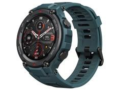 Умные часы Xiaomi Amazfit A2013 T-Rex Pro Steel Blue Выгодный набор + серт. 200Р!!!