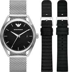 fashion наручные мужские часы Emporio armani AR80055. Коллекция Matteo