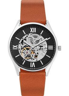 Швейцарские наручные мужские часы Skagen SKW6613. Коллекция Leather