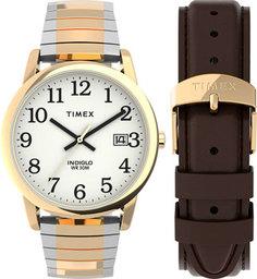 женские часы Timex TWG025500. Коллекция Easy Reader Box Set