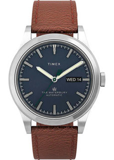 мужские часы Timex TW2U91000. Коллекция Waterbury Traditional Automatic