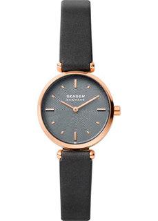 Швейцарские наручные женские часы Skagen SKW2995. Коллекция Leather