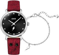 Швейцарские наручные женские часы Cover CO1007.01. Коллекция Crazy Seconds