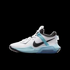 Баскетбольные кроссовки для школьников Nike Air Zoom Crossover - Белый