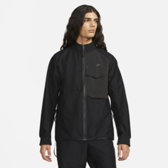 Мужская куртка без подкладки Nike Sportswear Dri-FIT Tech Pack - Черный