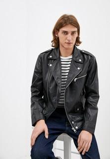 Куртка кожаная Calvin Klein Jeans