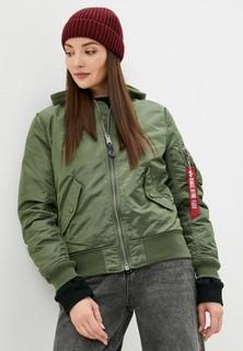 Куртка утепленная Alpha Industries MA-1 NATUS W