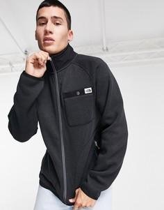 Черная флисовая куртка на молнии The North Face-Черный цвет