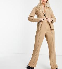 Розовые строгие брюки от комплекта 4th & Reckless Petite-Нейтральный