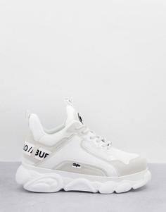 Белые массивные кроссовки Buffalo-Белый