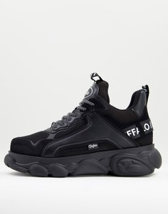 Черные массивные кроссовки Buffalo-Черный цвет