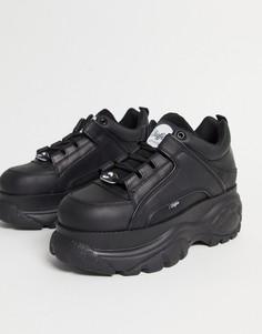 Черные кроссовки на массивной подошве Buffalo-Черный цвет