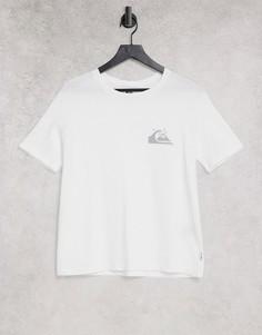 Белая футболка Quiksilver Standard-Белый