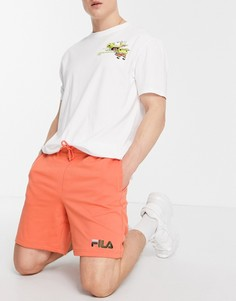 Оранжевые шорты с логотипом Fila Darnell-Оранжевый цвет
