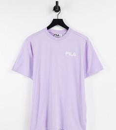 Футболка пастельного фиолетового цвета с маленьким логотипом Fila – эксклюзивно для ASOS-Фиолетовый цвет