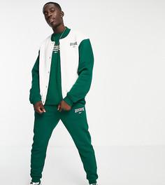 Зеленые джоггеры с винтажным логотипом Reebok – эксклюзивно для ASOS-Зеленый цвет