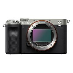 Цифровой фотоаппарат Sony Alpha a7C, серебристый [ilce7cs.cec]