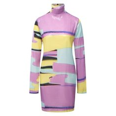 Платье с пайетками MSGM