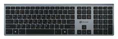 Клавиатура Oklick 890S WT-1901 серый USB беспроводная slim