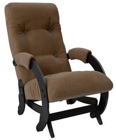 Кресло-качалка глайдер Модель 68, Венге, ткань Verona Brown Leset