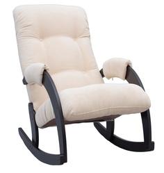"""Кресло-качалка Leset """"Модель 67"""" венге, ткань (цвета в ассорт.)"""