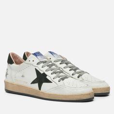 Мужские кроссовки Golden Goose Ball Star Leather/Suede Star, цвет белый, размер 45 EU