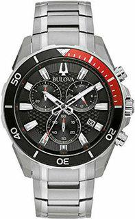 Японские наручные мужские часы Bulova 98B344. Коллекция Sport