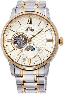 Японские наручные мужские часы Orient RA-AS0007S10B. Коллекция Classic Automatic