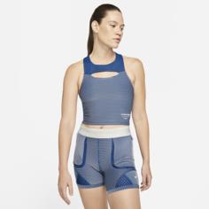 Женская трикотажная футболка Nike x Gyakusou - Синий