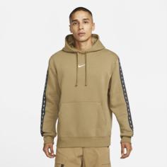 Мужская флисовая худи Nike Sportswear - Коричневый